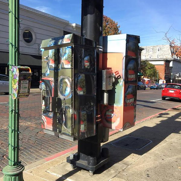 Traffic Box Artwork Interviews